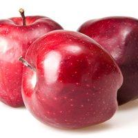pomme red del fournisseur