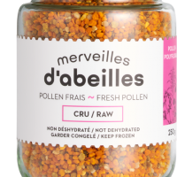 pollen-frais-cru-congele-250g-nonseche-nondeshydrate
